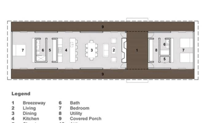 Modern Style House Plan Beds Baths Main