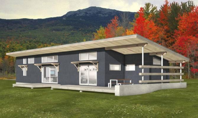Modern Style House Plan Beds Baths