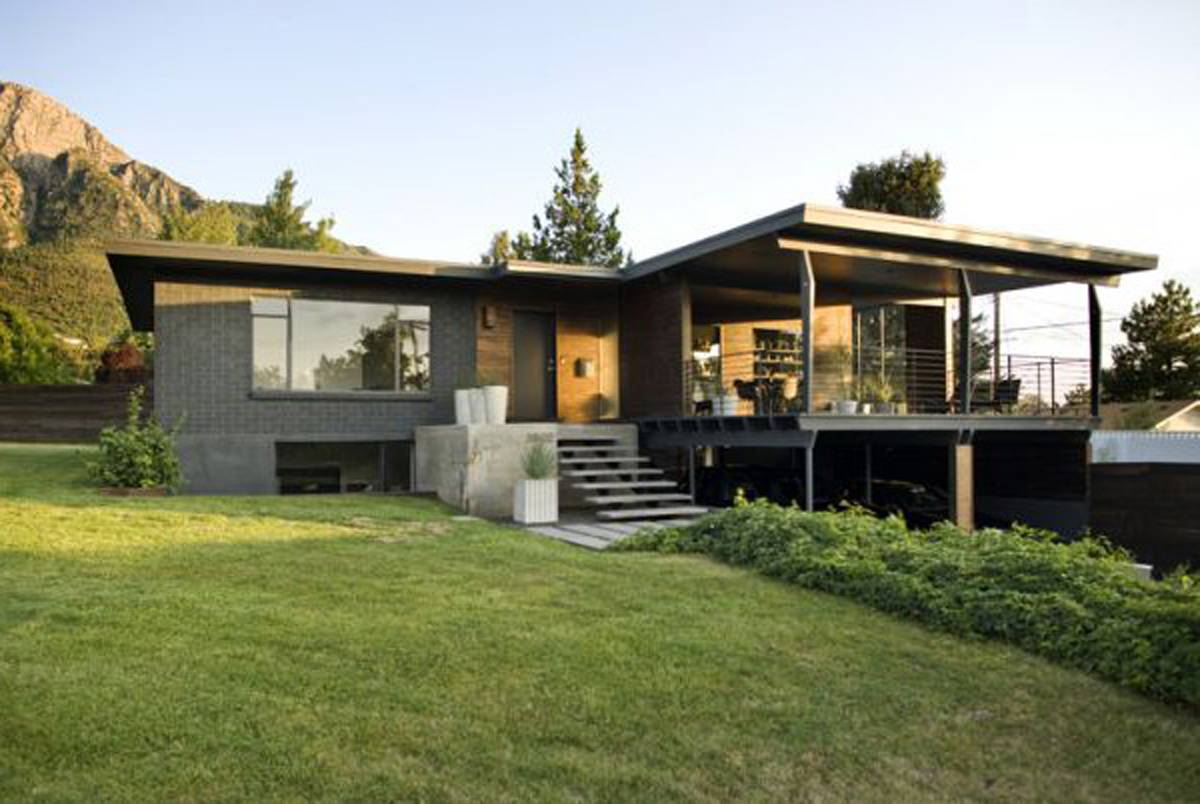 Modern Style Rustic Home Design Ideas House Plans 41136
