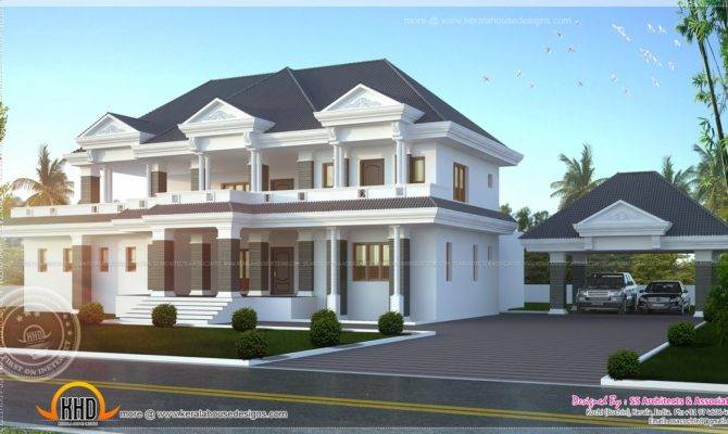 Modern Super Luxury Home Design Kerala Floor Plans