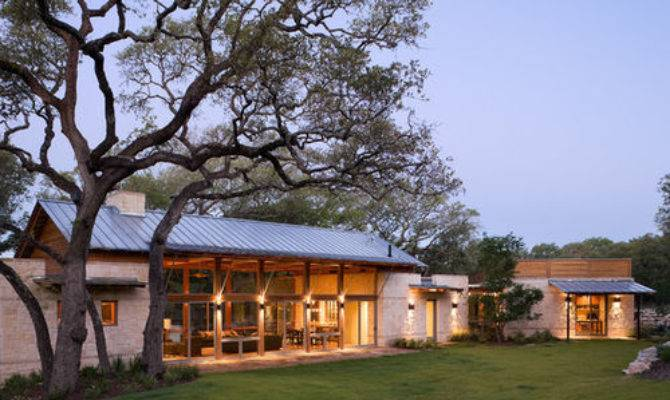 Modern Texas Country Ranch Home Design Ideas