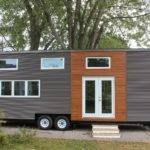 Modern Tiny House Wheels Home Kingston