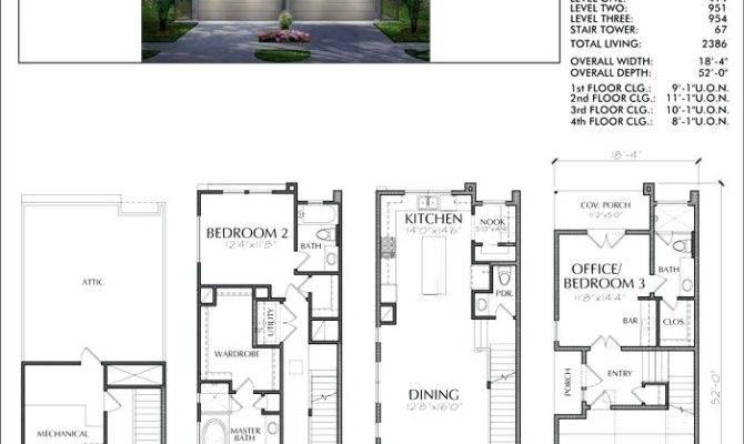 Modern Townhouse Plans Duplex Plan House Simple Luxury