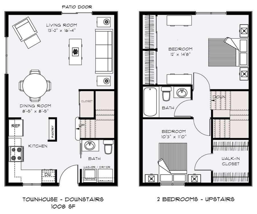 Modern Townhouse Rooftop Garden Design Ideas