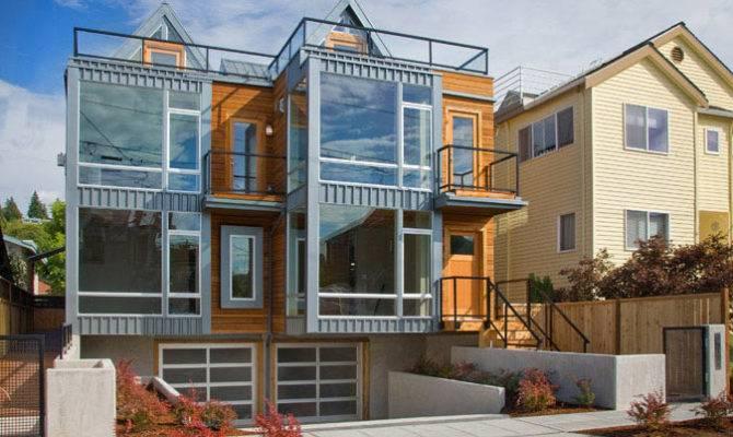Modern Townhouse Seattle Idesignarch Interior Design
