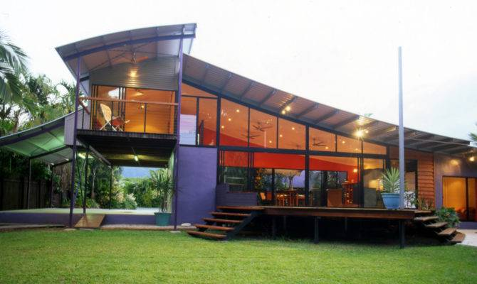 Modern Tropical House Design Becuo
