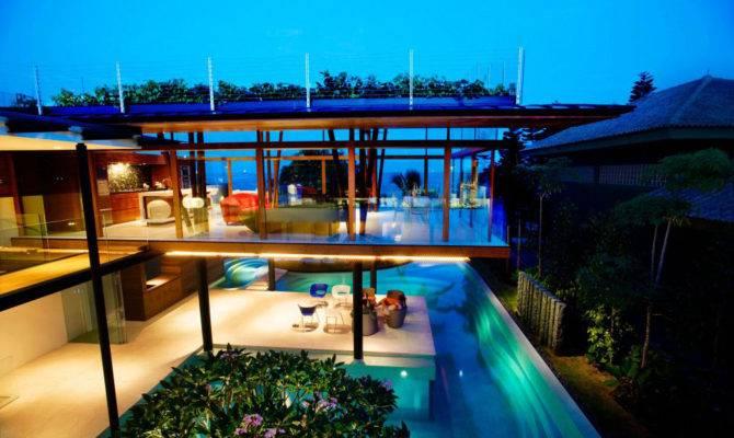 Modern Tropical House Singapore Idesignarch Interior Design