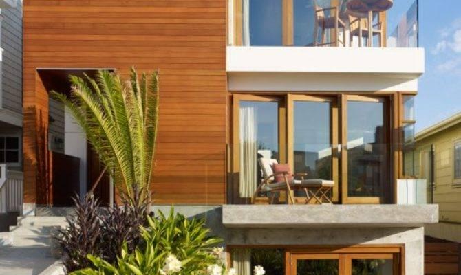 Modern Tropical House Small Lot Garden