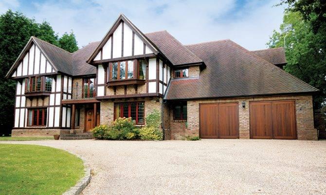 Modern Tudor House Design