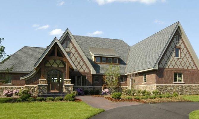 Modern Tudor Style House Inspired Great