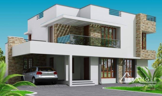 Modern Two Storey House Design Endeligmamma
