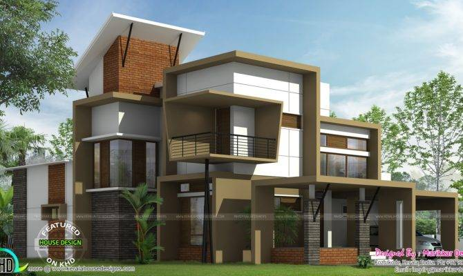 Modern Ultra Contemporary House Kerala Home Design