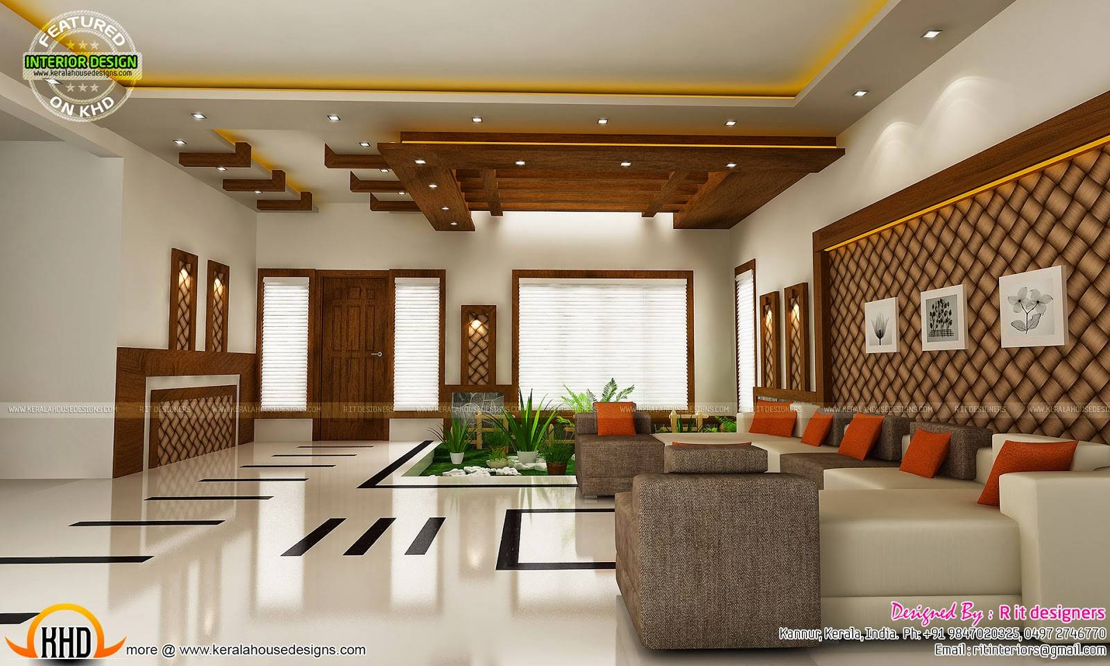 Modern Unique Dining Kitchen Interior Kerala Home House Plans 140501