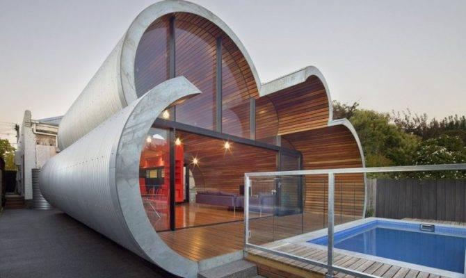 Modern Unique House Cloud Like Shape