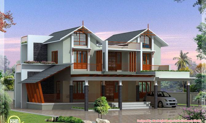 Modern Unique Villa Design House Plans