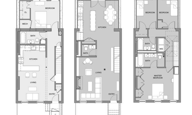 Modern Urban Home Floor Plans Thefloors
