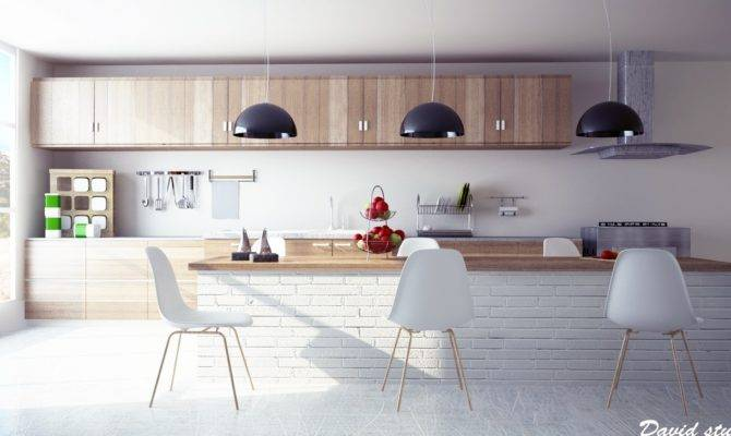Modern Wooden Kitchen Interior Design Ideas