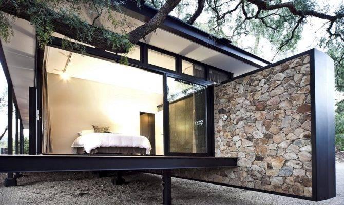 Moderna Casa Campo Con Estructura Acero Construye Hogar