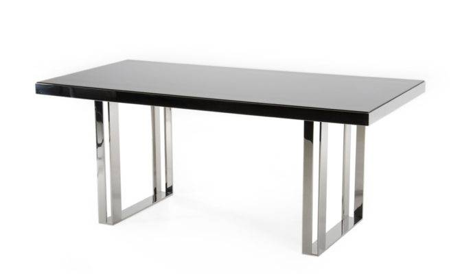 Modrest Courtland Modern Stainless Steel Dining Table