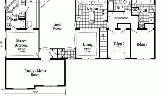 Modular Home Ranch Floor Plans Lovely Rancher