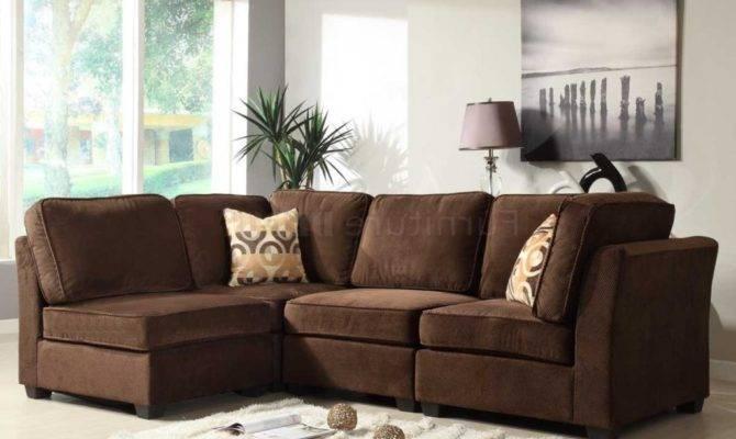 Modular Sectional Sofa Microfiber Sofas