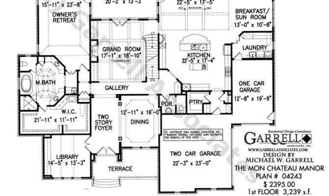 Mon Chateau Manor House Plan Estate Plans