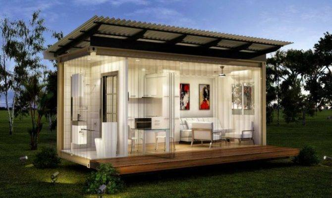 Monaco Granny Flats One Bed Bath Prefabricated Modular Home