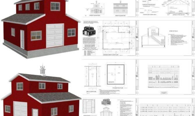 Monitor Barn Plans Blueprints