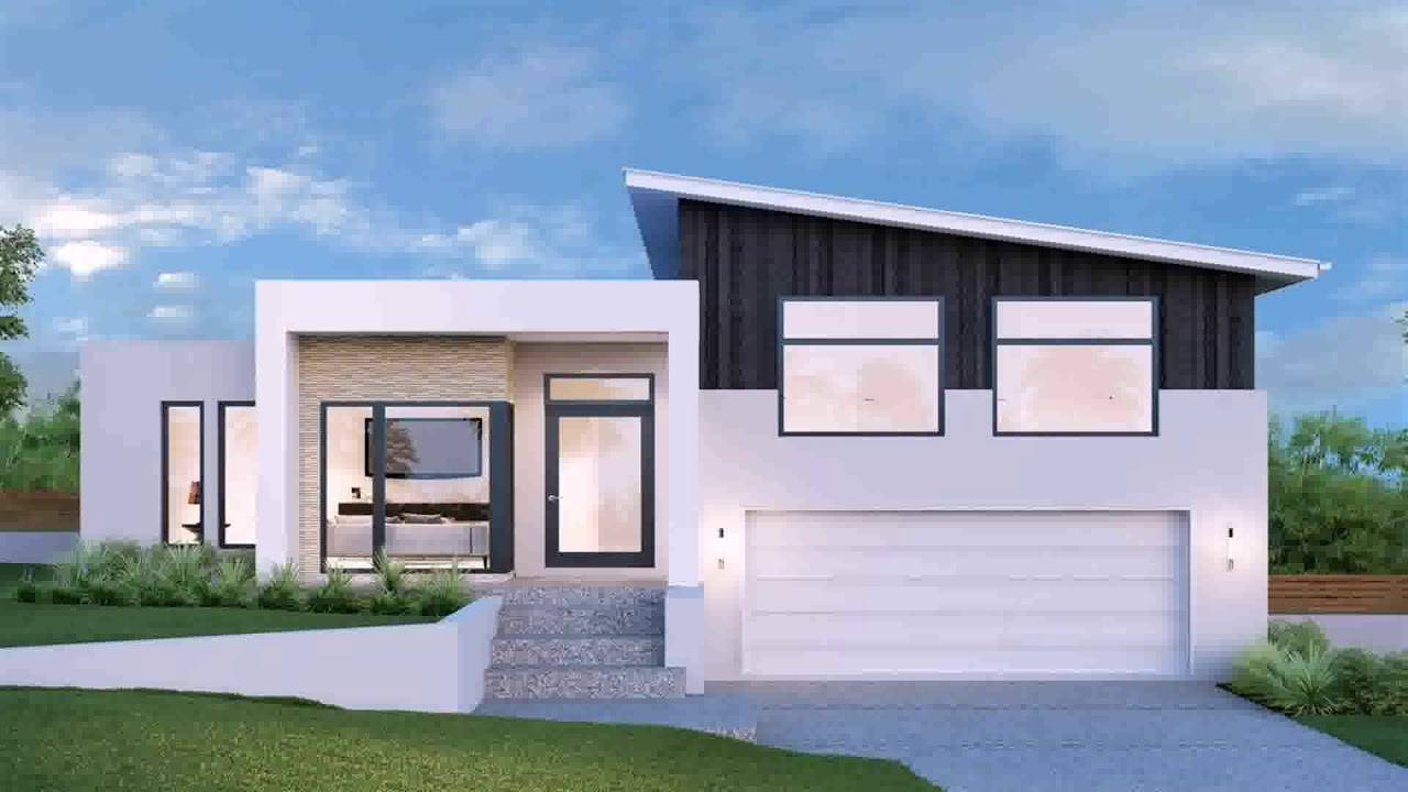 mono pitch roof house plans youtube house plans 141704