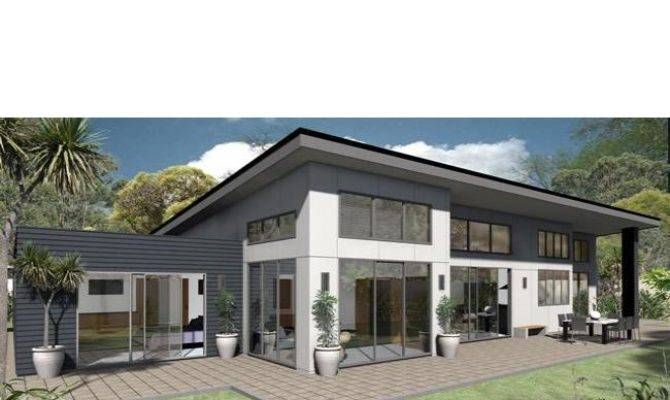 Mono Pitched Roof House Plans Design House Plans 174984