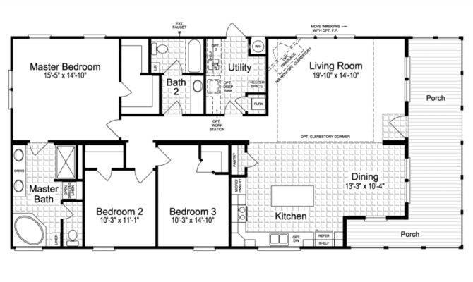 Montana Manufactured Home Floor Plans Tulsa Oklahoma