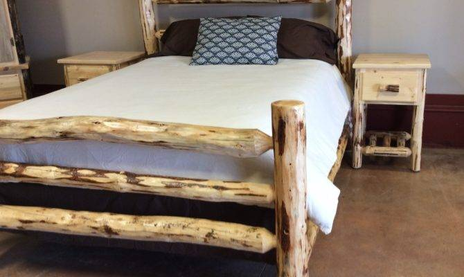 Montana Pioneer Corral Style Log Bed Great Northern Logworks