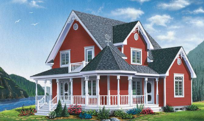Moravian Victorian Home Plan House Plans More