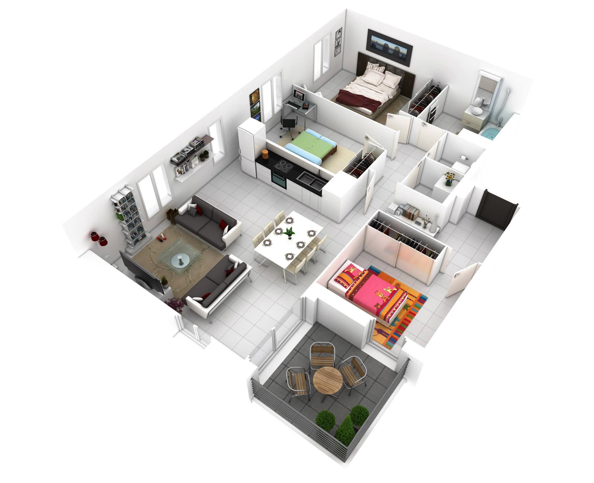 More Bedroom Floor Plans House Plans 113253
