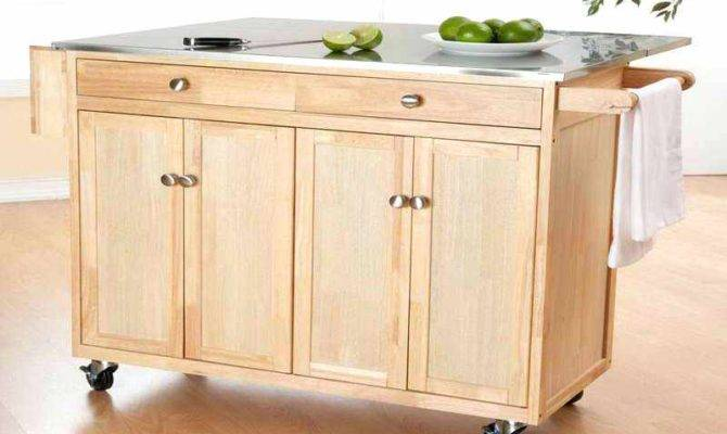 More Kitchen Cart Island Rolling Plans Big Lots