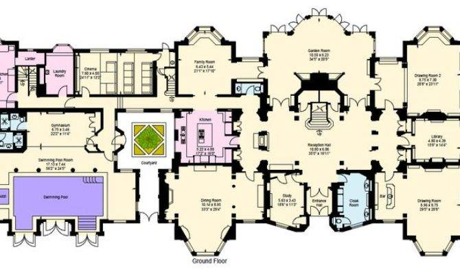 24 Beautiful Victorian Mansions Floor Plans House Plans
