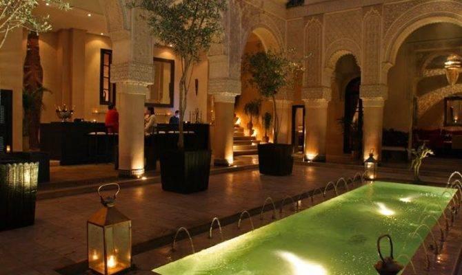 Moroccan Courtyard House Plan Fez Riad Fes Gains