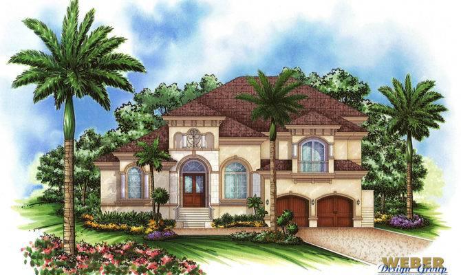 Morocco Home Plan Mediterranean Weber Design Group