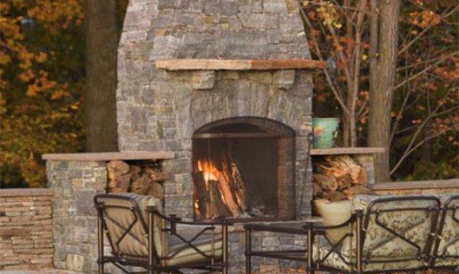 Most Amazing Outdoor Fireplace Designs Ever