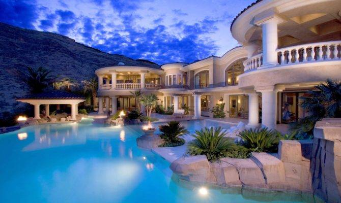 Most Heavenly Luxury Mansions Swimming Pools Wow Amazing