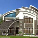 Most Modern Contemporary House Design Kerala Home Floor