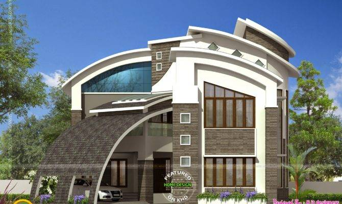Most Modern Contemporary House Design Kerala Home