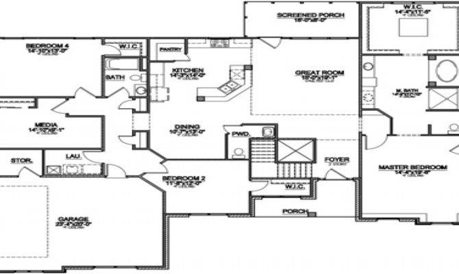 Most Popular Floor Plans Ranch