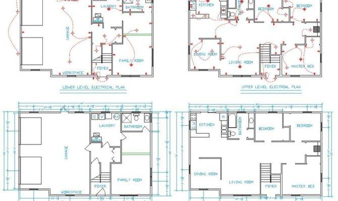 Most Stylish House Plans Cad Drawings Regarding