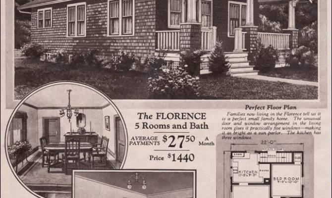 Motgomery Ward Kit House Bungalow Florence