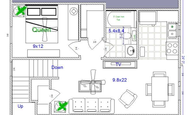 Mother Law House Plans Quarters Guest Cabin