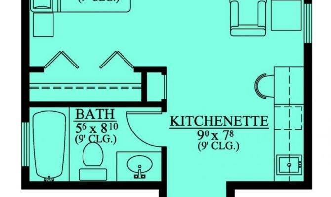 Mother Law Suite Garage Floor Plan Pin