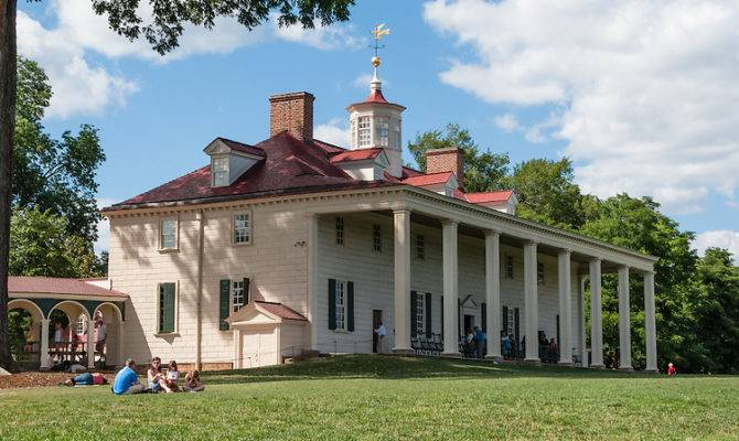 Mount Vernon Virginia Usa Plantation Home George