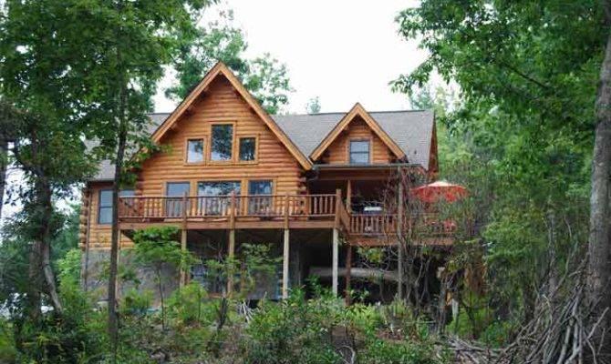 Mountain Home Plans Walkout Basement Eclectic