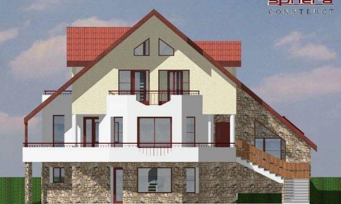 Mountain Home Plans Walkout Basement Separate Entrance